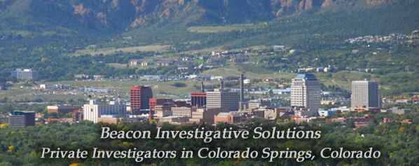Colorado Springs Private Investigator