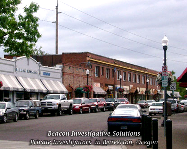 Beaverton Private Investigator