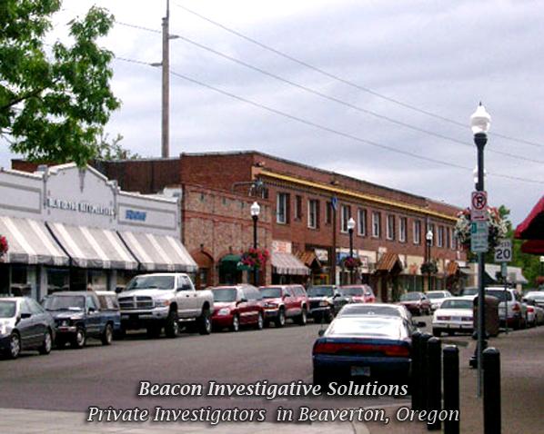 Beaverton Private Investigator