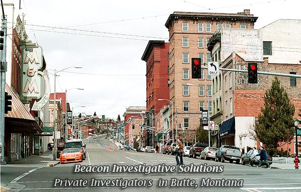 Butte Private Investigator