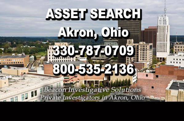 Akron Ohio Asset Search