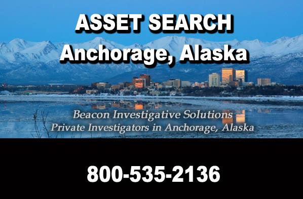 Anchorage Alaska Asset Search