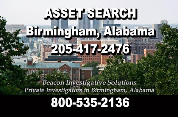 Birmingham Alabama Asset Search
