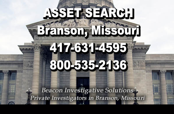 Branson Missouri Asset Search