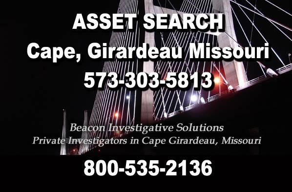 Cape Girardeau Missouri Asset Search