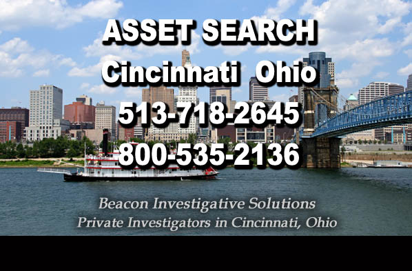 Cincinnati Ohio Asset Search