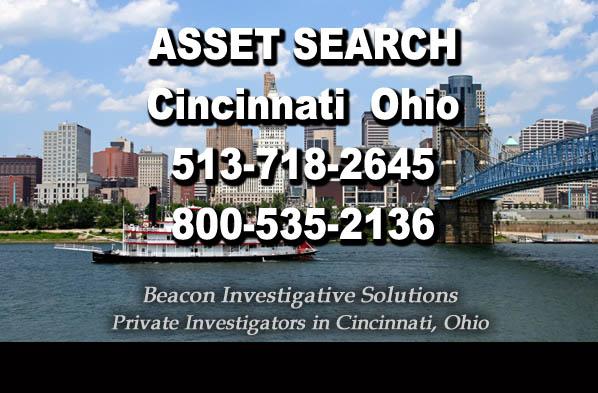 Cincinnati Ohio Asset Search