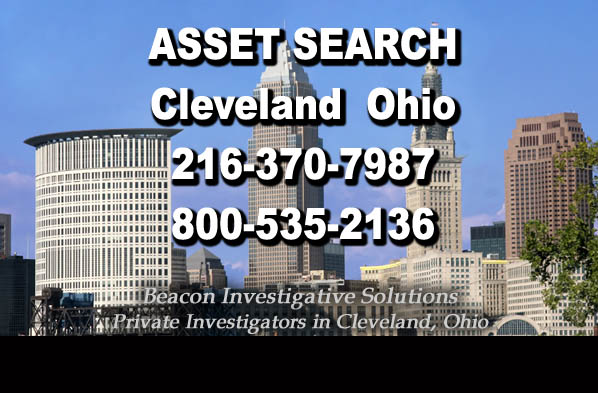 Cleveland Ohio Asset Search