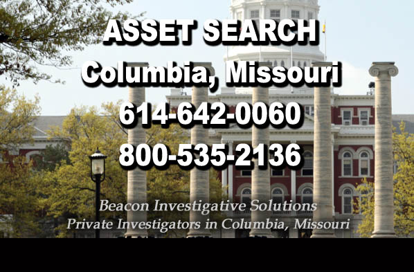 Columbia Missouri Asset Search