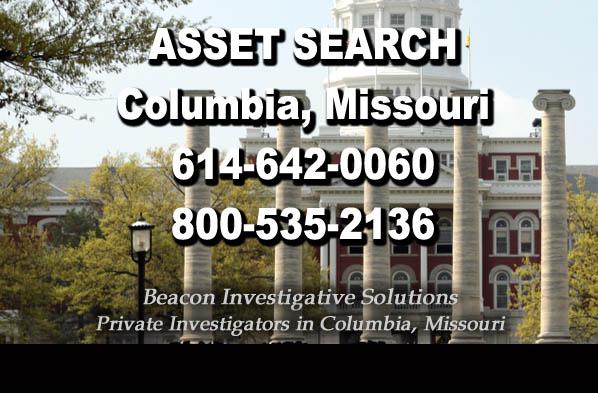 Columbia Missouri Asset Search
