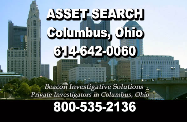 Columbus Ohio Asset Search
