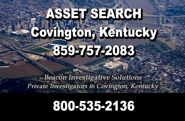 Covington Kentucky Asset Search