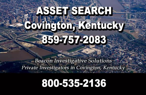 Covington Kentucky Asset Search