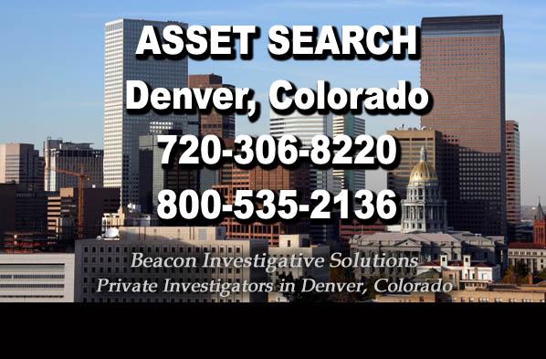 Denver Colorado Asset Search