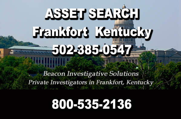 Frankfort Kentucky Asset Search