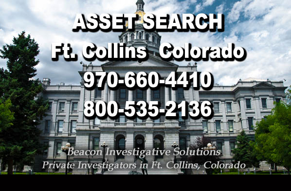 Ft. Collins Colorado Asset Search