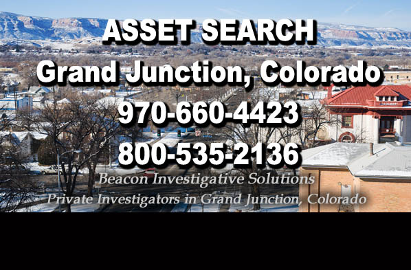 Grand Junction Colorado Asset Search