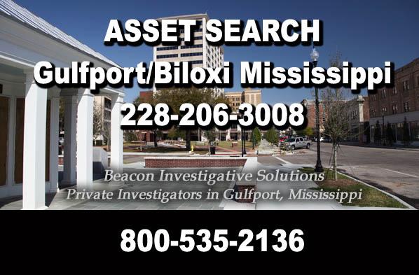 Gulfport Biloxi Mississippi Asset Search