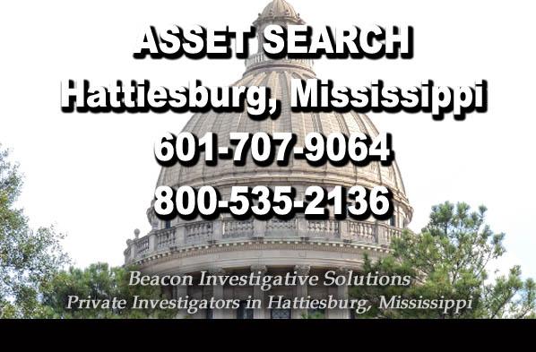 Hattiesburg Mississippi Asset Search