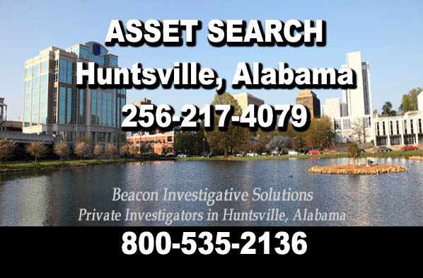 Huntsville Alabama Asset Search