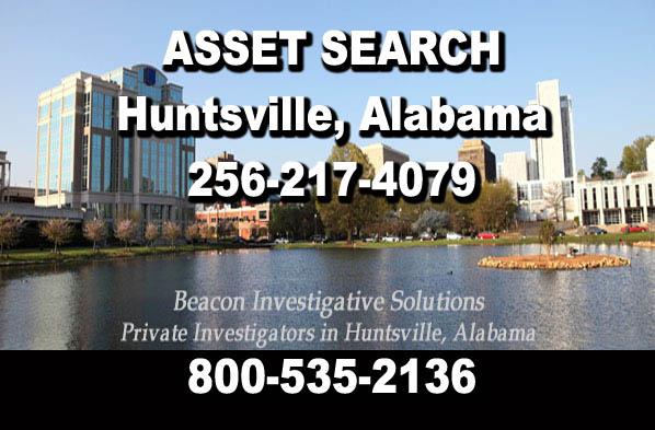 Huntsville Alabama Asset Search
