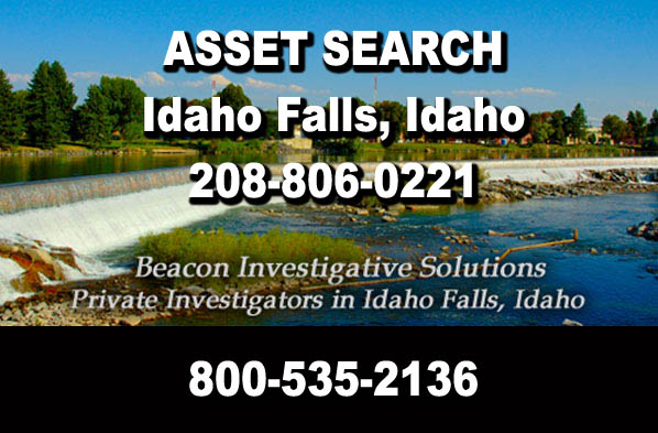 Idaho Falls Idaho Asset Search