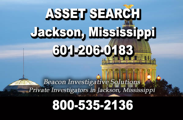 Jackson Mississippi Asset Search