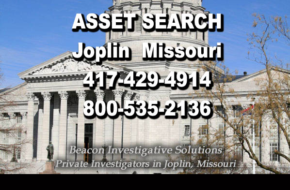 Joplin Missouri Asset Search