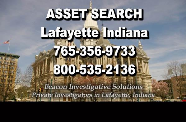 Lafayette Indiana Asset Search