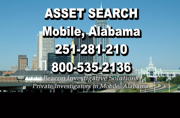 Mobile Alabama Asset Search