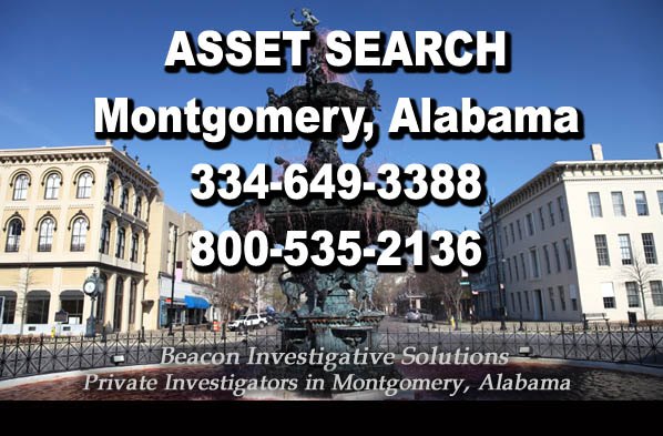 Montgomery Alabama Asset Search