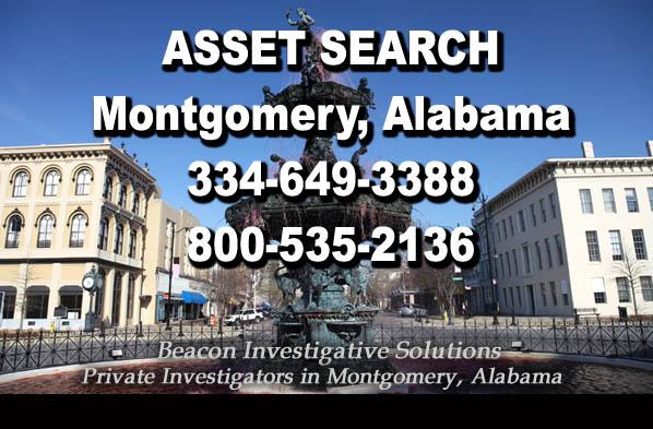 Montgomery Alabama Asset Search