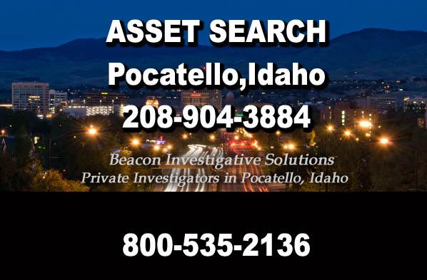 Pocatello Idaho Asset Search