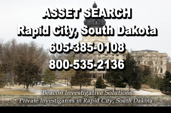 Rapid City South Dakota Asset Search