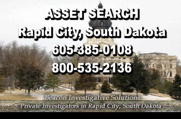 Rapid City South Dakota Asset Search
