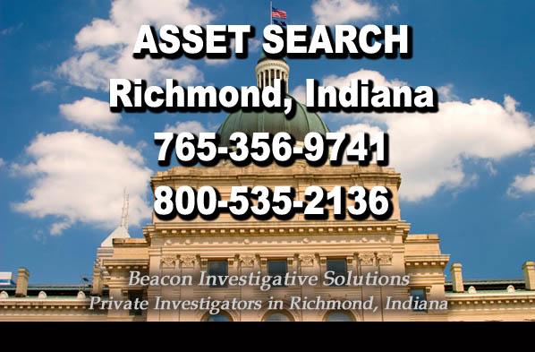 Richmond Indiana Asset Search