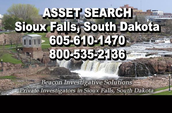Sioux Falls South Dakota Asset Search