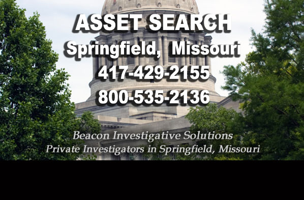 Springfield Missour Asset Search