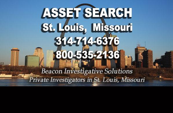 St. Louis Missour Asset Search