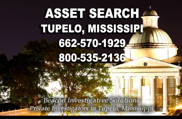 Tupelo Mississippi Asset Search