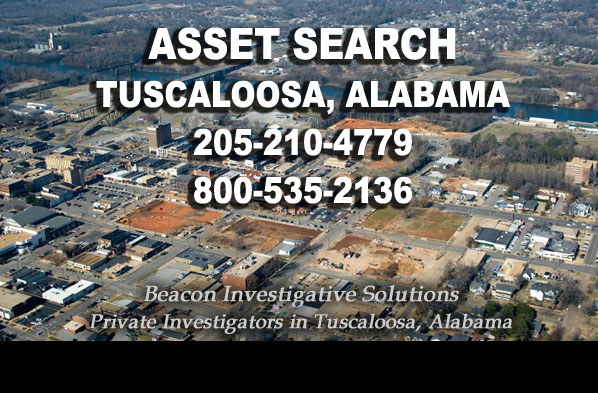 Tuscaloosa Alabama Asset Search