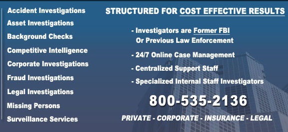 Maine Private Investigators