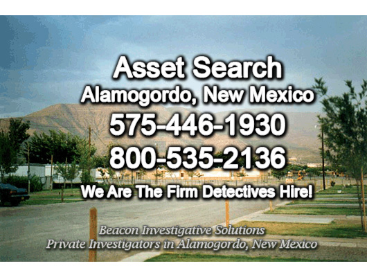 Alamogordo New Mexico Asset Search