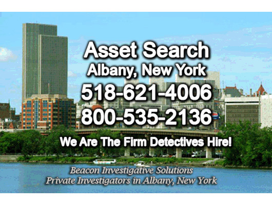 Albany New York Asset Search