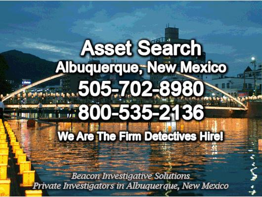 Albuquerque New Mexico Asset Search
