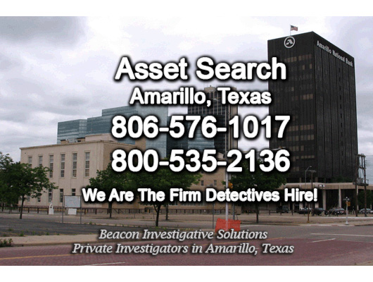 Amarillo Texas Asset Search