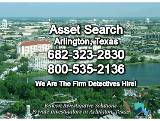 Arlington Texas Asset Search