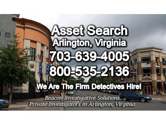 Arlington Virginia Asset Search