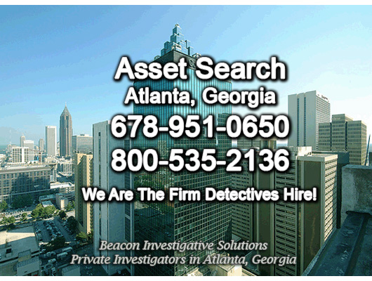 Atlanta Georgia Asset Search