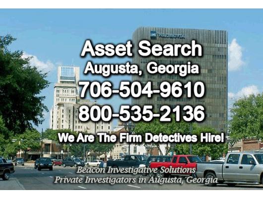 Augusta Georgia Asset Search